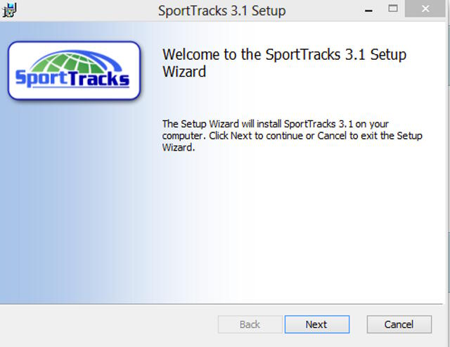 Review of SportTracks for Mac OS X on Parallels 8 | SportTracks