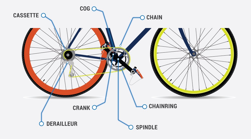 Bicycle Anatomy Diagram - Information Of Wiring Diagram •