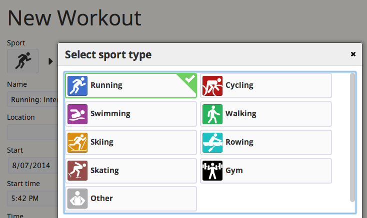 Adding a Workout: How to Add a Workout on SportTracks