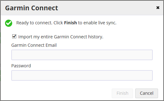 Connecting With Garmin: How to sync your SportTracks account