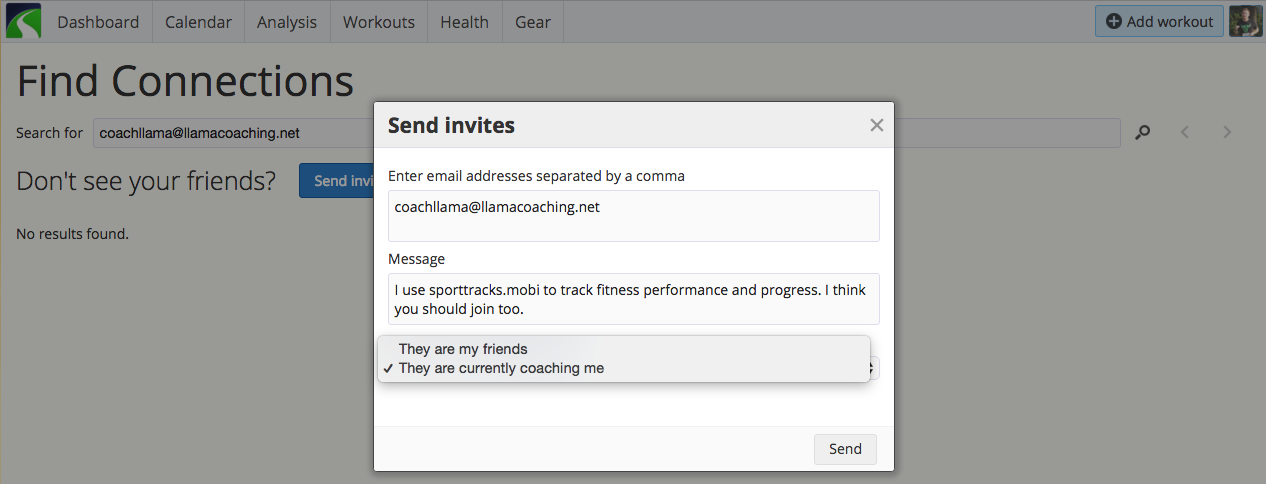 Sharing Data with Your Coach: How to invite your coach to