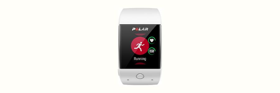 The Polar M600 sports watch