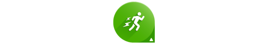 The logo of the Garmin Running Power app from Connect IQ