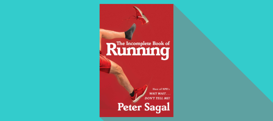 The cover of Peter Sagal's book The Incomplete Book of Running
