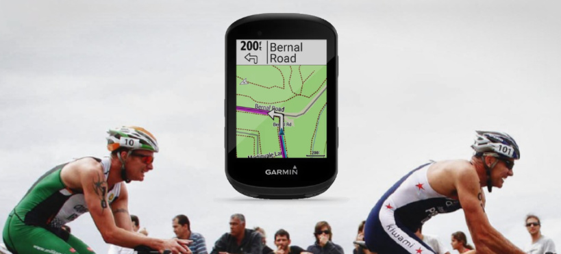 The Garmin Edge 530 bike computer