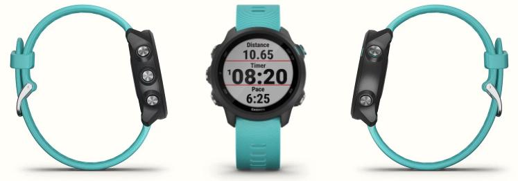 The Garmin Forerunner 245 running watch