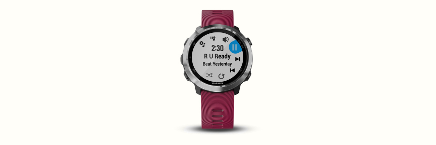 The Garmin Forerunner 645 Music
