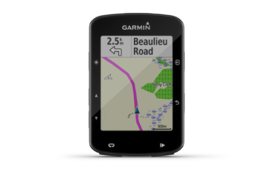 The Garmin 520 Plus bike computer