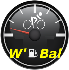 The logo of the W' Bal Connect IQ app