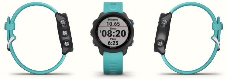 The Garmin Forerunner 245 running watch