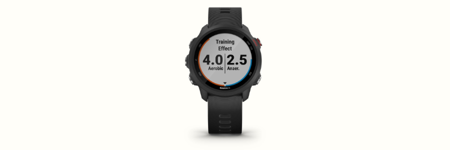 The Garmin Forerunner 245 Music running watch
