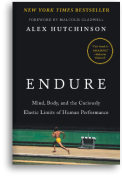 The cover of the book Endure by Alex Hutchinson